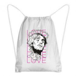 Рюкзак-мішок Lil Peep: love head