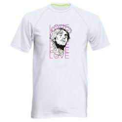 Чоловіча спортивна футболка Lil Peep: love head