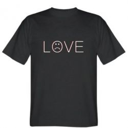 Чоловіча футболка lil peep: love