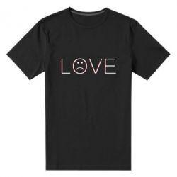 Чоловіча стрейчева футболка lil peep: love