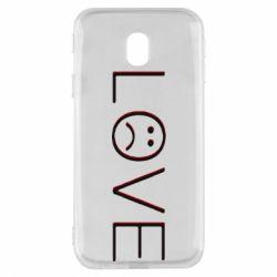 Чохол для Samsung J3 2017 lil peep: love