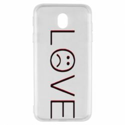 Чохол для Samsung J7 2017 lil peep: love
