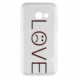 Чохол для Samsung A3 2017 lil peep: love