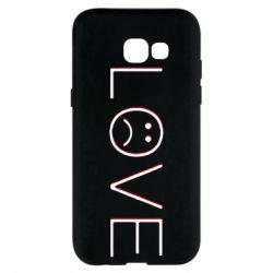 Чохол для Samsung A5 2017 lil peep: love