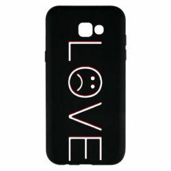 Чохол для Samsung A7 2017 lil peep: love
