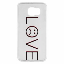 Чохол для Samsung S6 lil peep: love