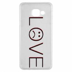 Чохол для Samsung A3 2016 lil peep: love