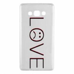 Чохол для Samsung A7 2015 lil peep: love