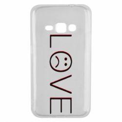 Чохол для Samsung J1 2016 lil peep: love