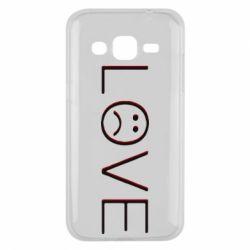 Чохол для Samsung J2 2015 lil peep: love