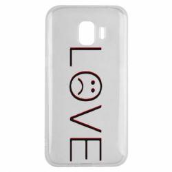 Чохол для Samsung J2 2018 lil peep: love