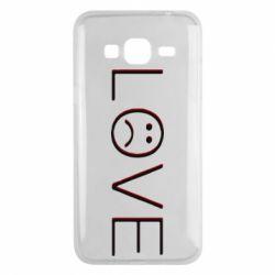 Чохол для Samsung J3 2016 lil peep: love