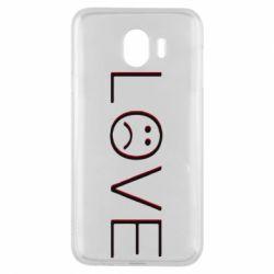 Чохол для Samsung J4 lil peep: love