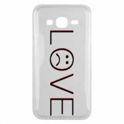 Чохол для Samsung J5 2015 lil peep: love
