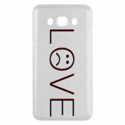 Чохол для Samsung J5 2016 lil peep: love