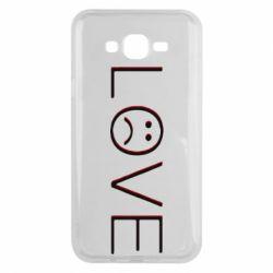 Чохол для Samsung J7 2015 lil peep: love