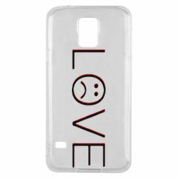 Чохол для Samsung S5 lil peep: love