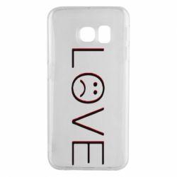 Чохол для Samsung S6 EDGE lil peep: love