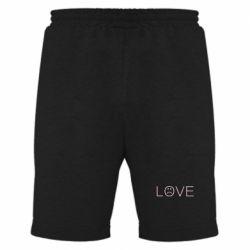 Чоловічі шорти lil peep: love