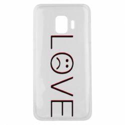 Чохол для Samsung J2 Core lil peep: love