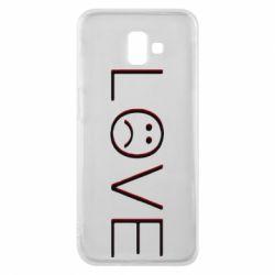 Чохол для Samsung J6 Plus 2018 lil peep: love