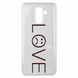 Чохол для Samsung J8 2018 lil peep: love