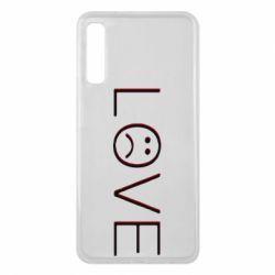 Чохол для Samsung A7 2018 lil peep: love