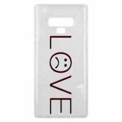 Чохол для Samsung Note 9 lil peep: love
