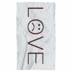 Рушник lil peep: love