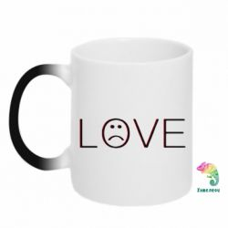 Кружка-хамелеон lil peep: love