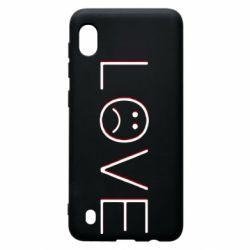 Чохол для Samsung A10 lil peep: love