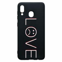 Чохол для Samsung A20 lil peep: love