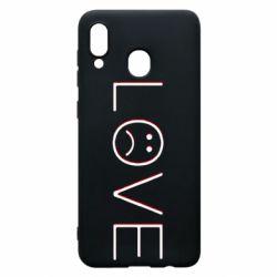 Чохол для Samsung A30 lil peep: love