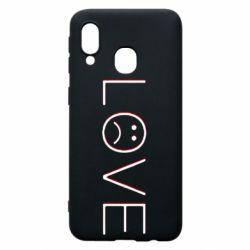 Чохол для Samsung A40 lil peep: love