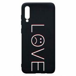Чохол для Samsung A70 lil peep: love