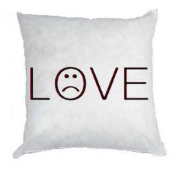 Подушка lil peep: love