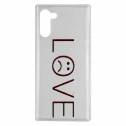 Чохол для Samsung Note 10 lil peep: love