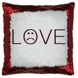 Подушка-хамелеон lil peep: love