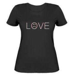 Жіноча футболка lil peep: love