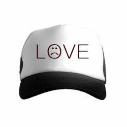 Дитяча кепка-тракер lil peep: love