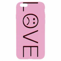 Чохол для iPhone 6/6S lil peep: love