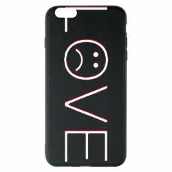 Чохол для iPhone 6 Plus/6S Plus lil peep: love