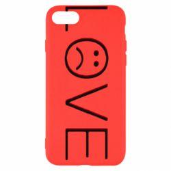 Чохол для iPhone 7 lil peep: love