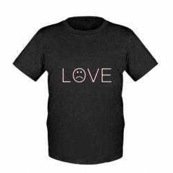 Дитяча футболка lil peep: love