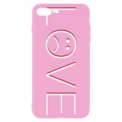 Чохол для iPhone 8 Plus lil peep: love