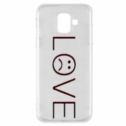 Чохол для Samsung A6 2018 lil peep: love