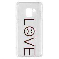 Чохол для Samsung A8 2018 lil peep: love