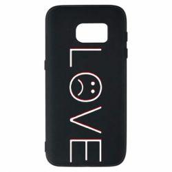 Чохол для Samsung S7 lil peep: love