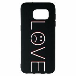 Чохол для Samsung S7 EDGE lil peep: love