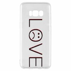 Чохол для Samsung S8 lil peep: love